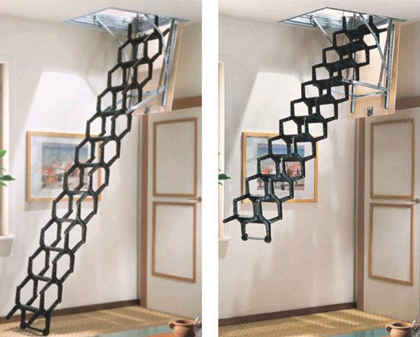 Folding Staircase Type Adj L00l Stairs