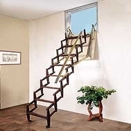 Folding Staircase Adj Wall Mounted 1001 Stairs