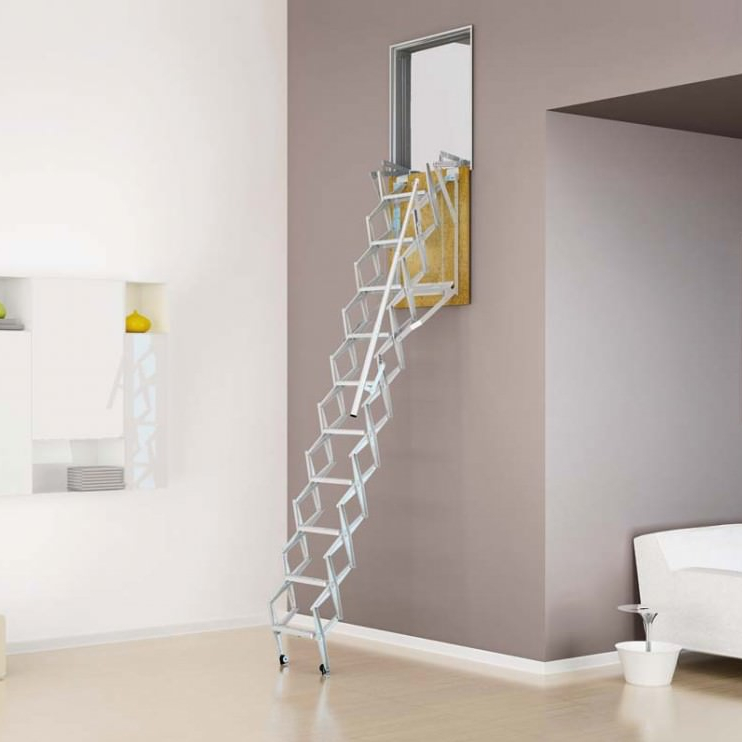22 Modern Innovative Staircase Ideas: Zoldertrap