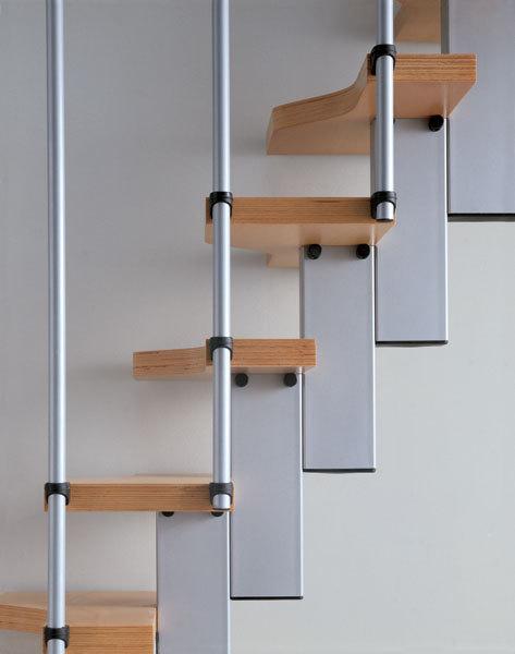 Ruimtebesparende trap type mini beuken 1001 trappen - Trap meubilair kind ...