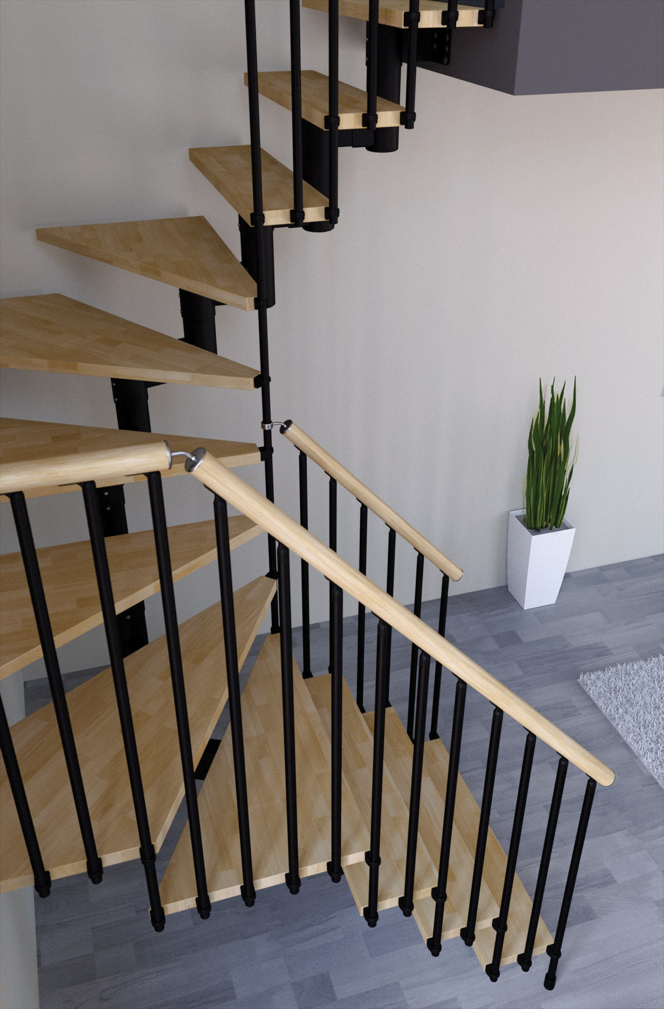 Open staircase type universal maxi l00l stairs for Open staircase