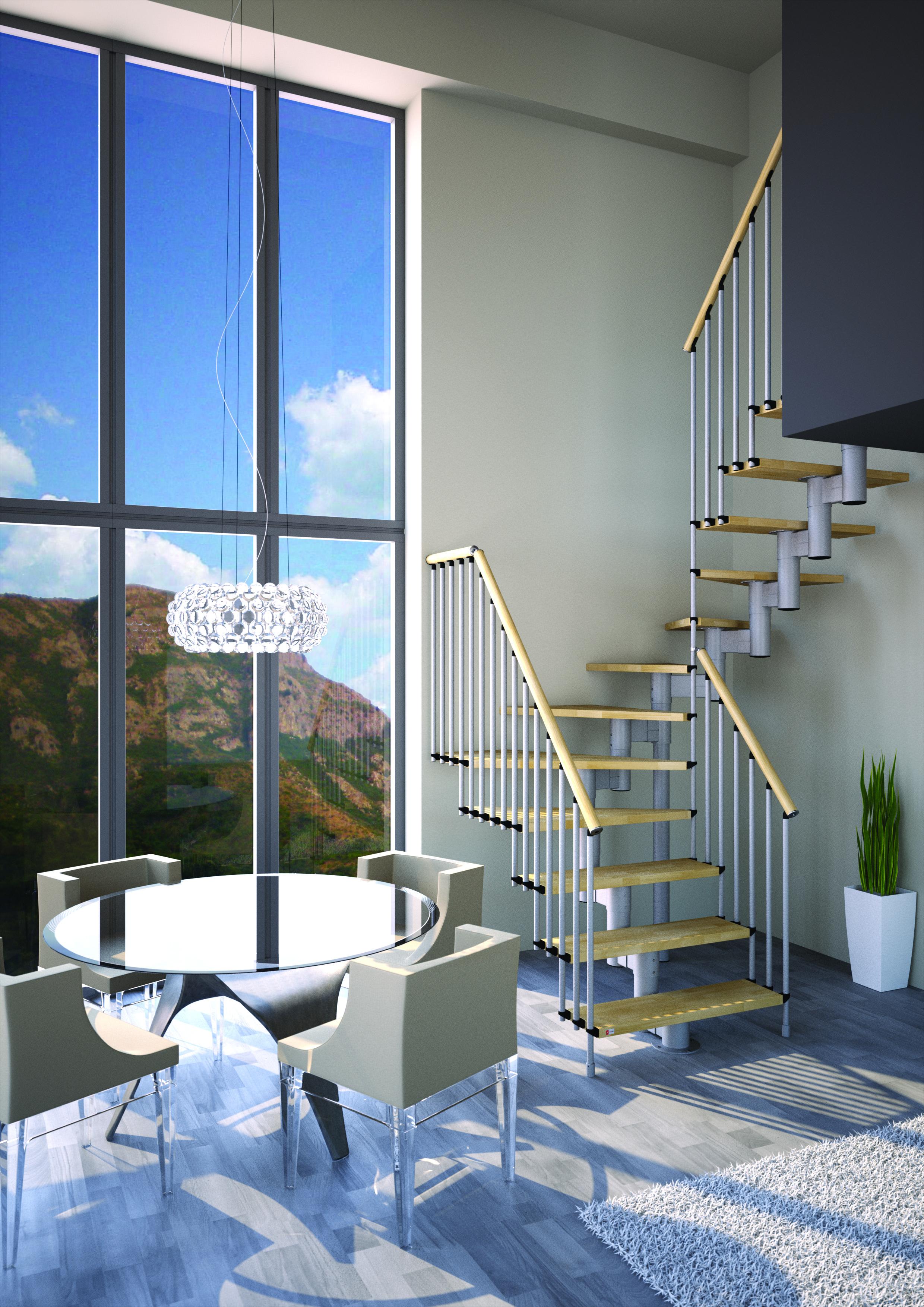 "Open Staircase Type ""Universal Maxi"""