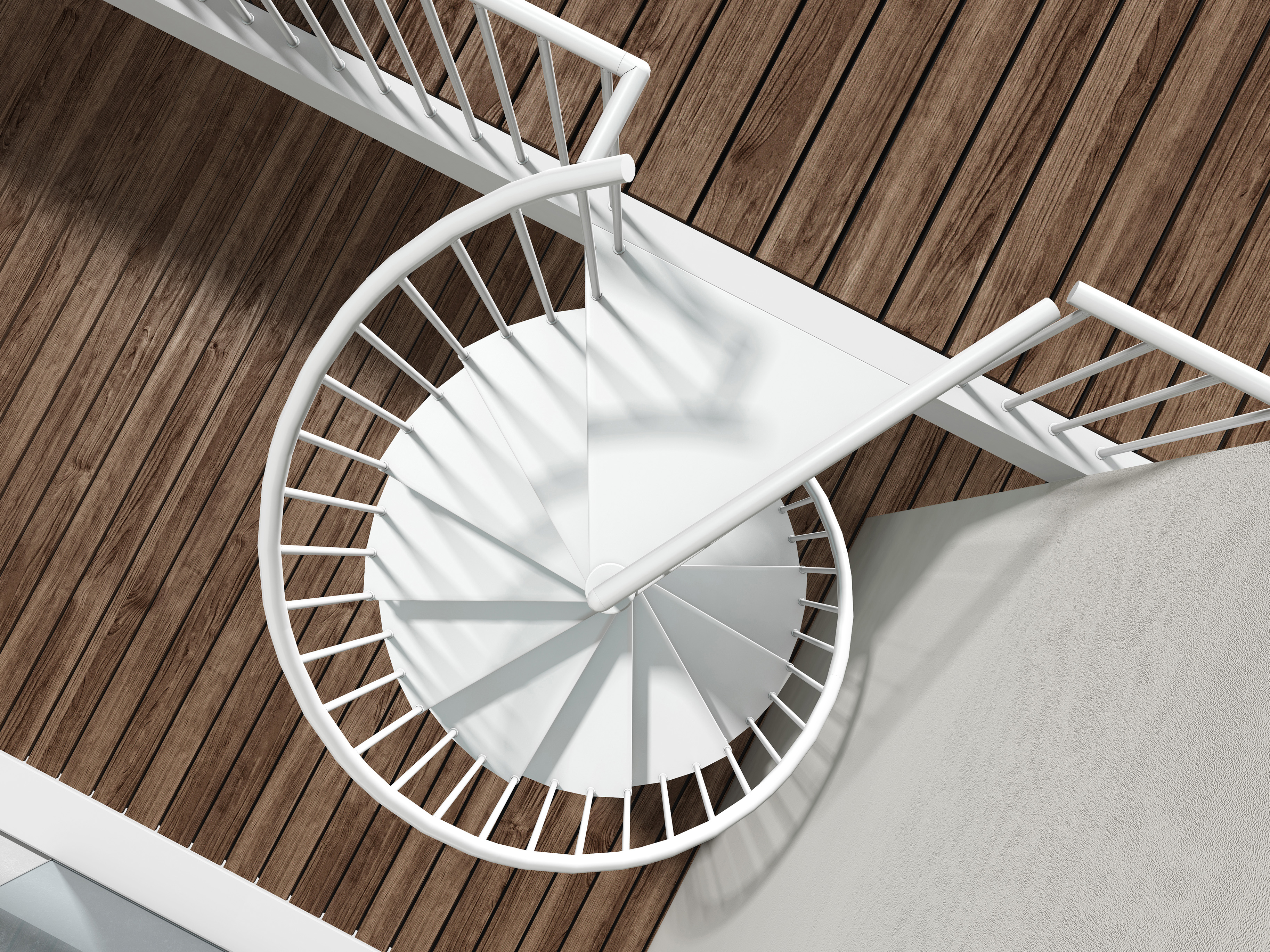 Metal Spiral Staircase Type Firenze 1200mm L00l Stairs