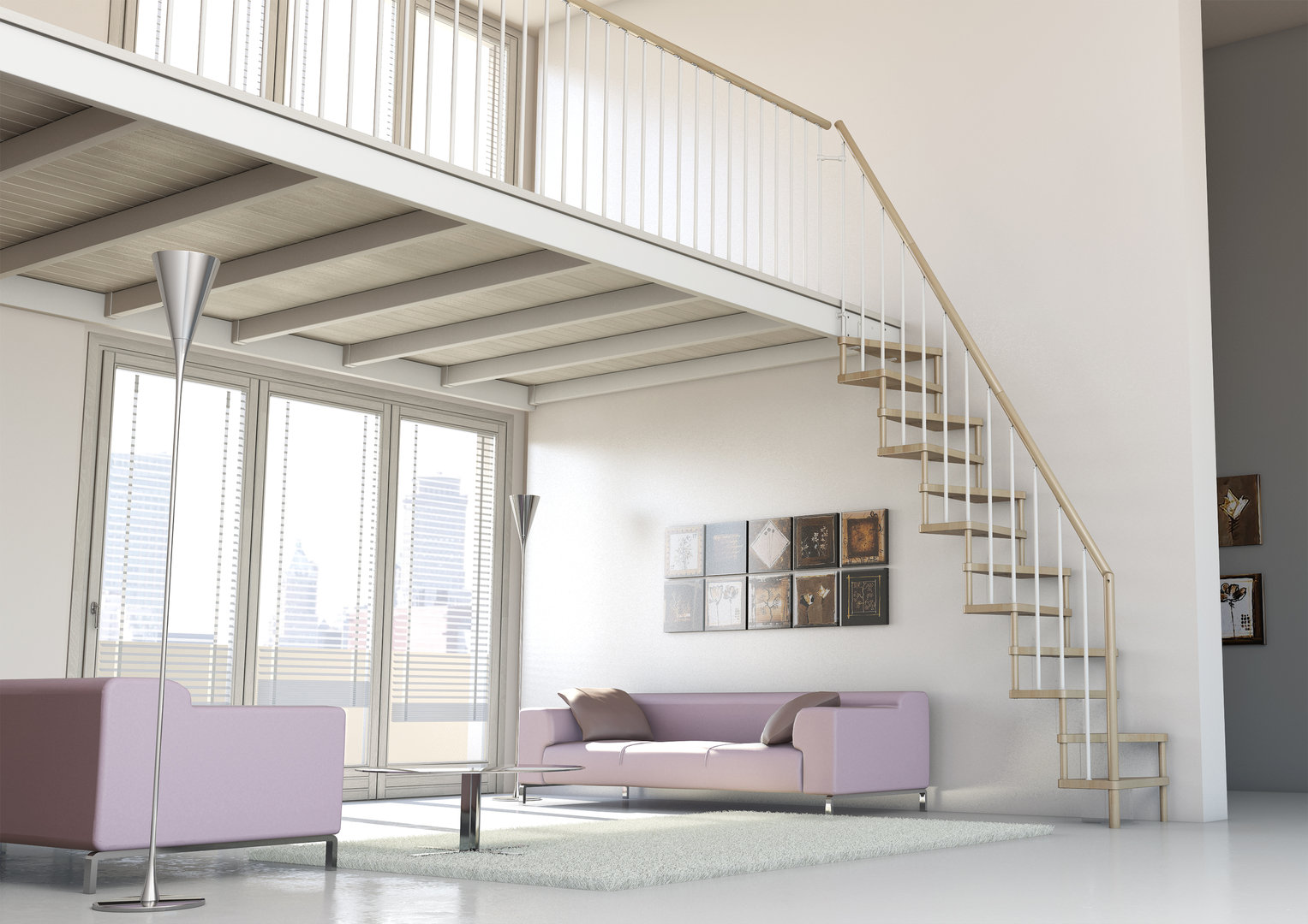 Space Saver Staircase Type Torino L00l Stairs