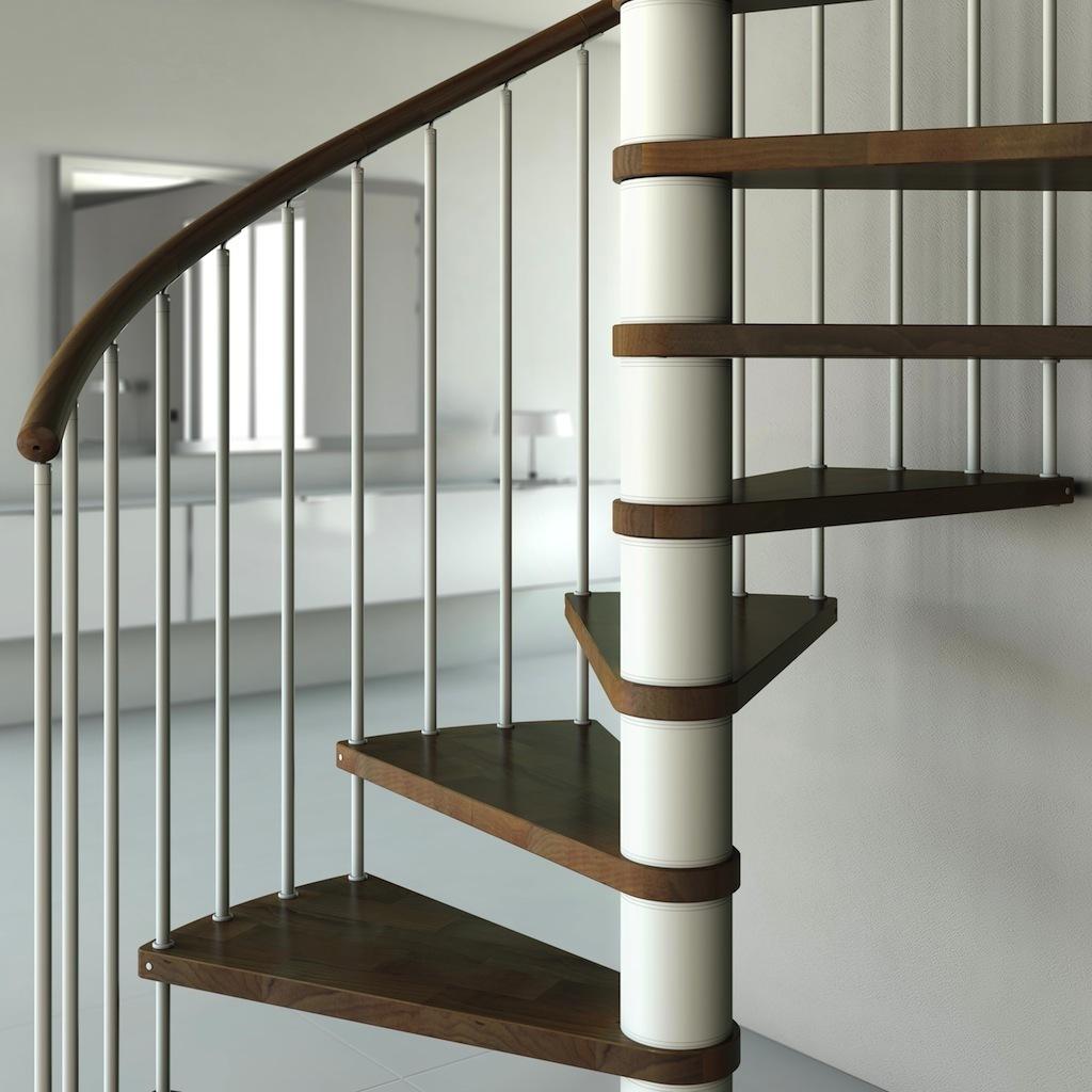 houten wenteltrap type capri plus 1400mm l00l trappen