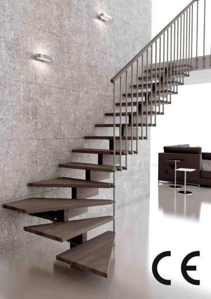 Moderne trap gehoor geven aan uw huis - Versier een trap ...