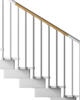 External Railing Kit - 3 Treads