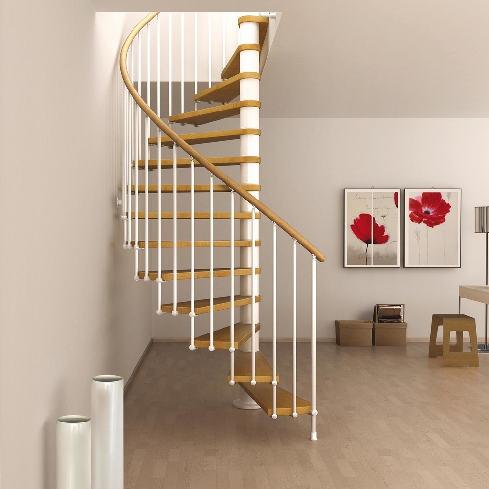 "Staircase Ideas For Small Spaces: Space Saving Spiral Staircase Type ""Toscana"""