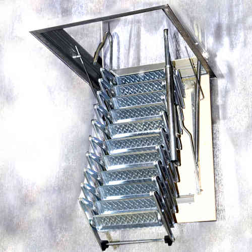 Gentil Folding Staircase Type