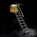 "Folding Staircase Type ""Loft H270"""