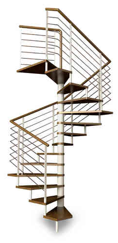 Square Spiral Staircase Type