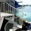 "Metal Spiral Staircase Type ""Firenze"" (galvanized)"