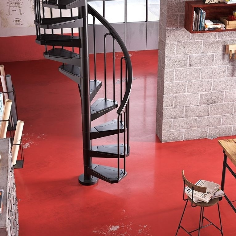 "Small Metal Spiral Staircase Type ""Atzara"""
