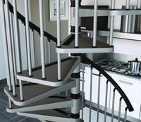 "Metal Spiral Stairs Type ""Gamia"""